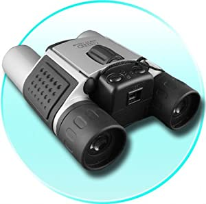 Digital Binocular Camera 300K CMOS Sensor and 8MB Memory