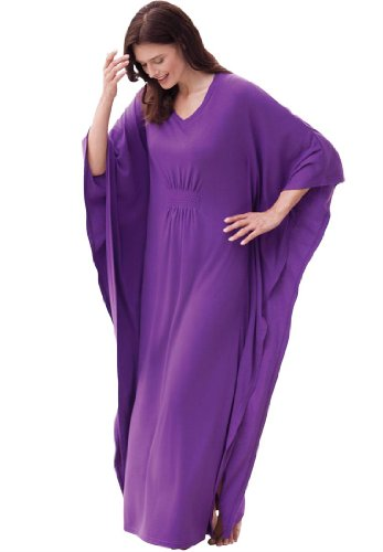 Only Necessities Plus Size Gown, Long Caftan