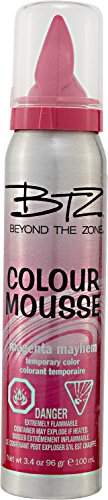 Beyond The Zone Colour Mousse Magenta Mayhem (Color Mousse compare prices)