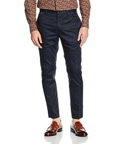 Dolce & Gabbana Pantalón Azul Oscuro