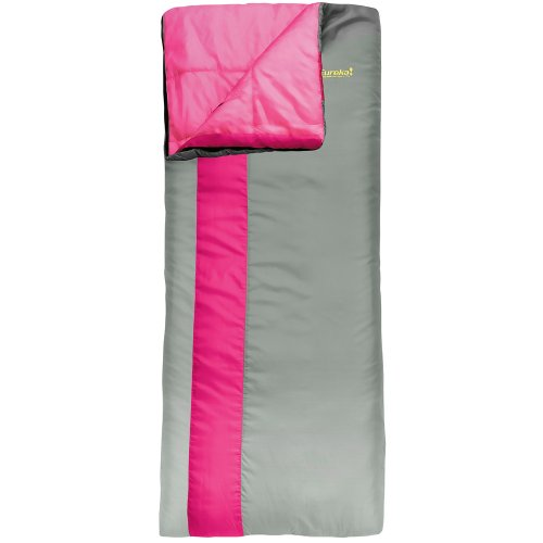 B00H3WKTTA Eureka Camellia 30 Degree Rectangular Junior Sleeping Bag