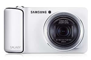 """Samsung - Galaxy Camera - Appareil photo numérique - Android 4.1 - Zoom optique 21x - Écran tactile 4,77"""" - Blanc"""