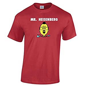 Mr. Heisenberg Men Walter White Jesse Pinkman Tv Cool Funny Parody Tshirt