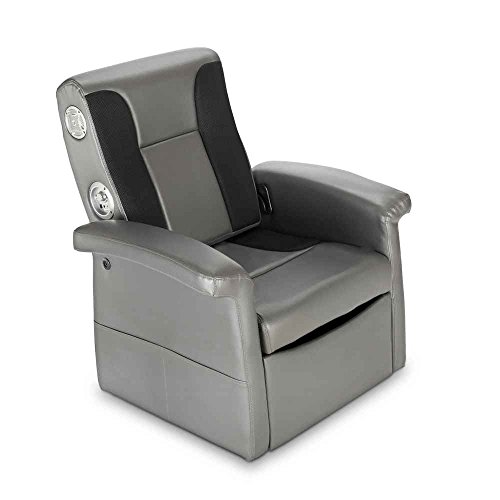 X Rocker  Triple Flip   Storage Ottoman Sound Chair With Arms At The Gaming Chair Store