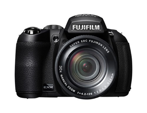 Fujifilm Finepix HS25 Fotocamera Digitale, 16 Megapixel, Sensore CMOS EXR, Zoom 30x  24720mm, Nero Picture
