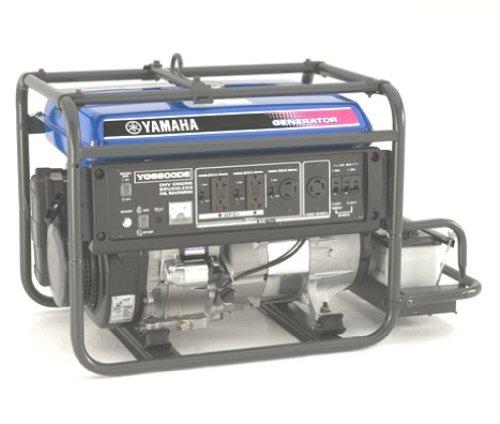 yamaha ef6600de 6600 watt 357cc ohv 4 stroke gas powered portable car interior design. Black Bedroom Furniture Sets. Home Design Ideas