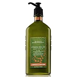 Bath & Body Works Aromatherapy Stress Relief Lemongrass Cardamom Body Lotion 6.5 Fl Oz (192 Ml)