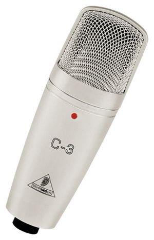 Behringer C-3 Dual-Diaphragm Studio Condenser