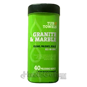 Tub O Towels Tw40 Gr Granite And Marble Cleaning