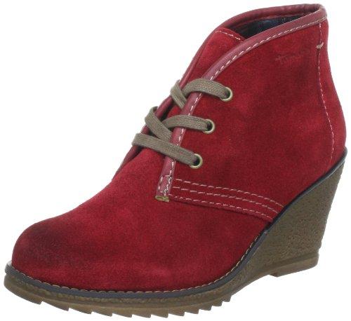Tamaris TAMARIS Desert Boots Womens Red Rot (SANGRIA 562) Size: 4 (37 EU)