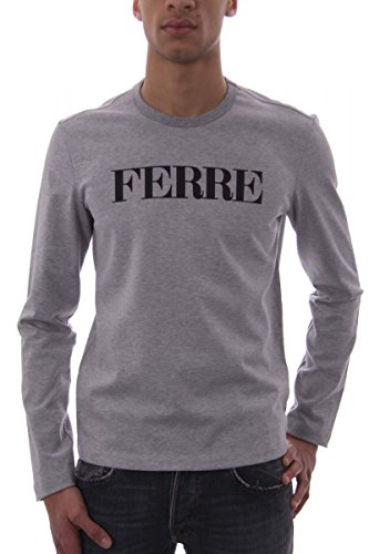 gianfranco-ferre-sweat-shirt-homme-gris-small