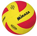 Mikasa Volleyball VSV 800, rot / gelb...
