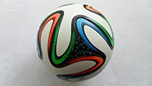 Buy Brazuca-official Match Ball -Size5- World Cup 2014 Brazil - Particles- No Glossy by Superstores
