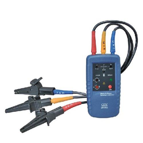 Cem dt 902 motor three 3 phase rotation indicator tester for 3 phase motor rotation