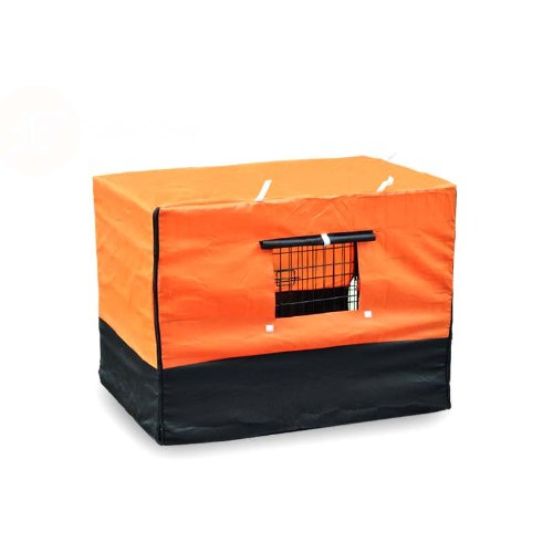 Cover For Dog Cage Kennel - Xl 36 front-548517