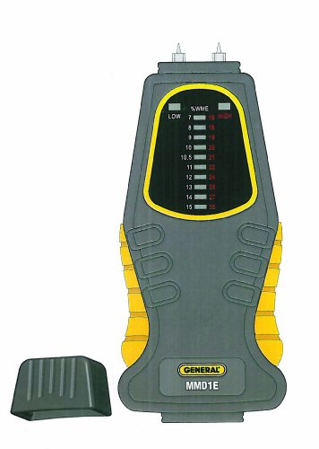 General Tools & Instruments Mm1E Moisture Meter, Pin Type, Led Bar Graph