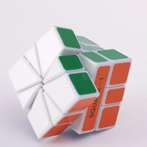 Mf8 Square 1 V2 White Cube Speed Twisty Puzzle - 1