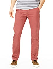 Big and Tall North Coast Pure Cotton Slim Fit Straight Leg Chinos