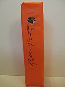Blake Bortles Autographed Signed Jacksonville Jaguars Full Size Logo Football End...