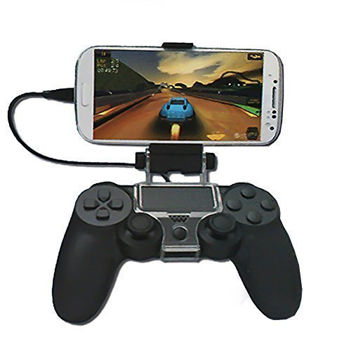 Mondpalast Foldable Mobile Phone Holder Clip for PlayStation 4 PS 4 Controller for Iphone LG SAMSUNG SONY HTC