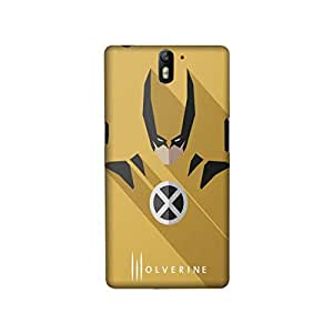 StyleO Oneplus one Designer Printed Case & Covers (Oneplus one Back Cover) - Superhero Wolverine