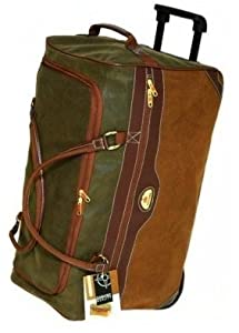 Extra Large Wheeled Holdall Suitcase Luggage Wheels Bag
