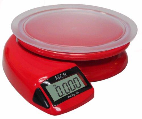 Finecook By Akor-bc015r-balance De Cuisine 5kg Rouge