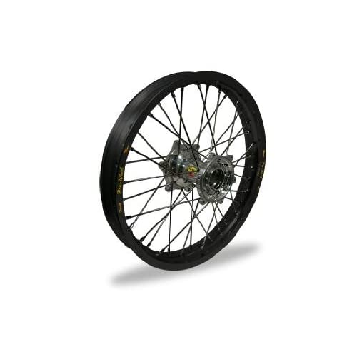 Pro Wheel MX Rear Wheel Set 19x2.15 Black Rim/Silver Hub 24 12012 HUB/RIM