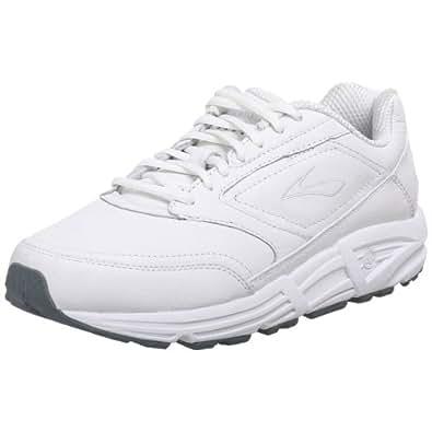 Brooks Men's Addiction Walker Walking Shoe,White,7.5 D