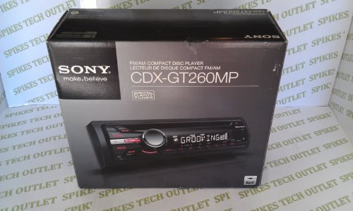 SONY CDXGT260MP Car Stereo CD/MP3 Radio Receiver