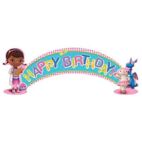 Disney Doc McStuffins Party Birthday Banner 1 per Pack