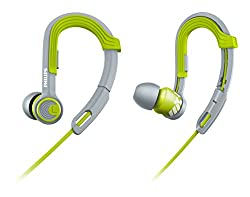 Philips SHQ3300LF/00 ActionFit Sports In-Ear Headphones (Lime)