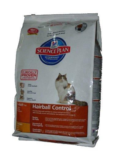 Hills Science Plan 8000 Feline Hairball Control Adult 5kg - Katzenfutter