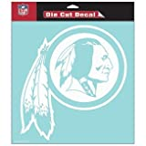 Washington Redskins 8x8 Die Cut Window Decal at Amazon.com