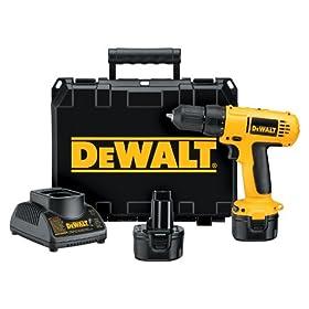 DEWALT DC750KA  9.6-Volt 3/8-Inch Cordless Drill/Driver Kit