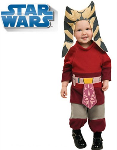 Star Wars Jedi Padawan Ahsoka Child Baby Romper Costume