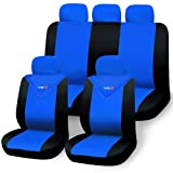 Relaxdays Autositzbezüge 11-teilig Farbe: Blau