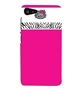 Pink Color Wallpaper 3D Hard Polycarbonate Designer Back Case Cover for Lenovo Zuk Z2