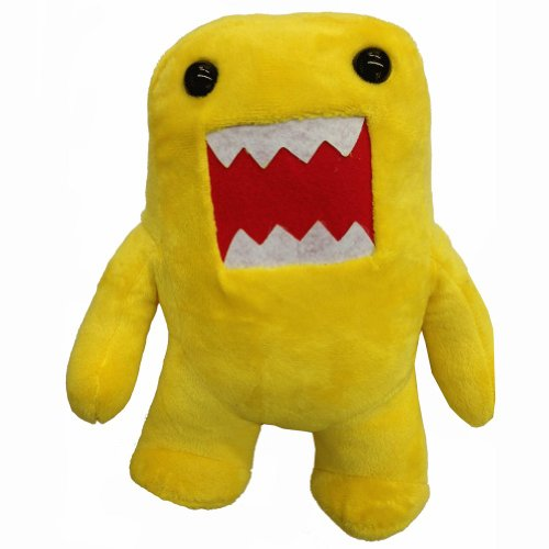 "Yellow 10"" Domo Plush"