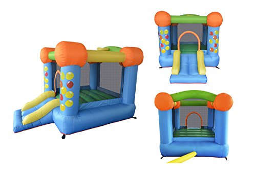 Inflatable Bounce Play House Mighty Slide Moonwalk Jumper Bouncer Bouncy Jump Castle #3 front-32165