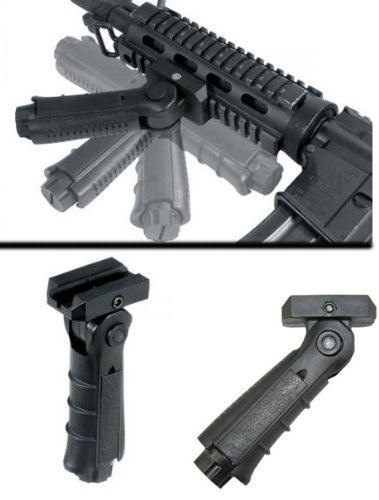 Learn More About .223 5 Position Folding Vertical Foregrip Tactical Grip,new Vertical Grip, Weaver V...