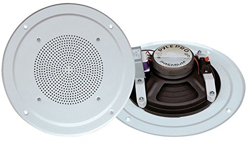Pyle Home Pdics54 5-Inch Full Range Speaker System With Transformer