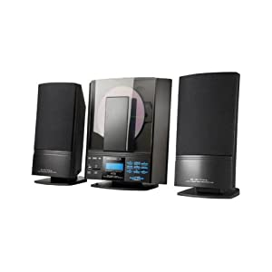 H&B HF330I Mini chaîne Hi-fi Lecture mp3 Tuner digital Alarme Lecteur cartes SD 50 W