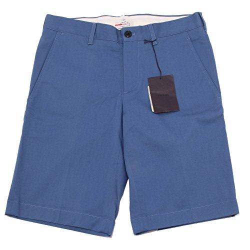 0070Q bermuda uomo PRADA blu avio pantalone corto short men [44]