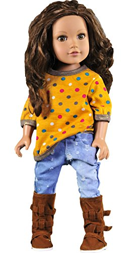 ebuddy-t-shirt-jeans-outfit-sets-doll-clothes-for-18-inch-american-girl