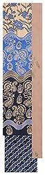 Mahek Fashion Women's Cotton Unstitched Dress Material (Black, Blue and Beige)