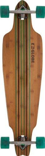 Longboard Prowler von Globe (Bamboo/Clear)