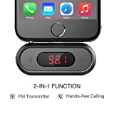Doosl Universal Wireless FM Transmitter Audio Adapter Car Kit