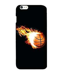 Crazymonk Premium Digital Printed 3D Back Cover For Apple I Phone 6