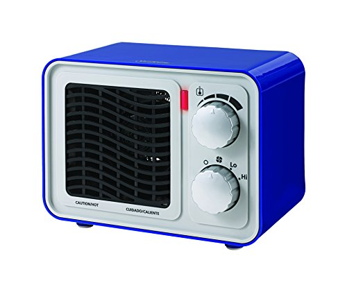 Sunbeam SFH5264MU-UM Retro Radio Heater Fan, Small, Blue (Sunbeam Fan Forced Heater compare prices)